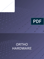 Orthopedic Hardware