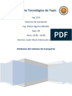 Atributos Del Trasporte