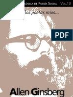 Cuaderno de Poesia Critica n.13 -Allen Ginsberg