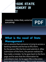 Client-Side State Management in ASP