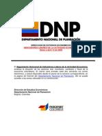Indicadores Lideres de la Actividad Economica Colombia Abril 132009