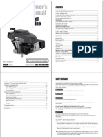 Husky Preassure Washer- Manual-owner Manual