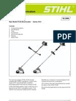 Stihl FS 130 manual pdf | Carburetor | Throttle