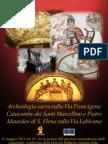 Conferenza per apertura Catacombe Santi Marcellino e Pietro