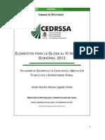 SAGARPA Desarrollo de Capacidades Glosa VI Informe 2012