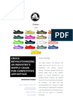 Operations Management-Crocs Shoes Case Study