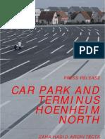 zaha hadid-Car Park and Terminus Hoenheim North