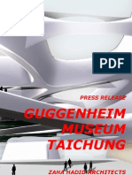 zaha hadid-Guggenheim Museum, Taichung