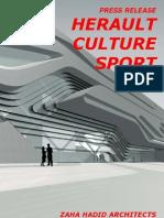 zaha hadid-Herault Culture Sport