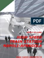 zaha hadid-High Speed Train Station Napoli-Afragola