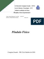 Pêndulo Físico.