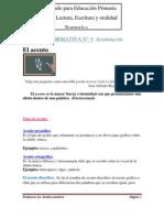 2013 Taller de Lectura, Escritura y Oralidad FICHA de NORMATIVA N_3