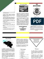 Brochure Belgique