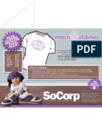 Socorp - March for Babies offer
