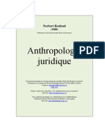 Anthropologie Juridique