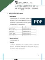 Auditoria a La Empresa Laboratorios ABC Imprimir