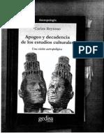 Reynoso Apogeo y Decadencia Cap. 8