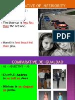 Unit 7 Comparatives