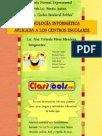 Analisis de pagina CLASSTOOLS