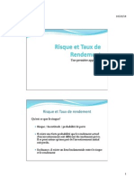 Risque Et Taux de Rendement (Support de Cours)very good to do some financial analyse  in french language it's fun and helpful try it  have fun  keep me up very good to do some financial analyse  in french language it's fun and helpful try it  have fun  keep me up