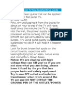 LCD Flat panel TV troubleshooting guide.doc
