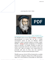 John Wycliffe (1330-1384)