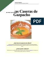 Gazpacho s