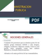 Conceptos Principales Estado, Gobierno y Nacion - Semana 2