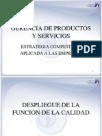 2 Gerencia de Productos y Servicios QFD