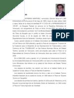 Curriculum Vitae Dr. Félix Helí Contreras Martínez (Venezuela)