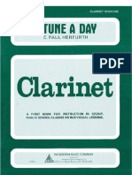 A Tune a Day for Clarinet Book 01