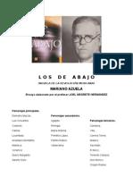 LOS DE ABAJO NOVELA DE LA REVOLUCIÓN MEXICANA