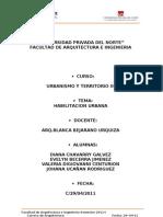 Análisis de sectores de la ciudad de Cajamarca