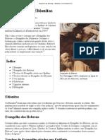 Evangelho dos Ebionitas – Wikipédia, a enciclopédia livre