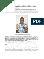 Des homosexuels haïtiens réclament leurs droits