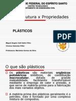 Microestrutura x Propriedades Plc3a1sticos