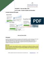 63 questões FCC Office 2010 nível médio www.informaticadeconcursos.com.br