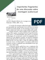 Discussão sobre montagem audiovisual