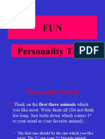 Personality Test.ppt
