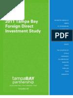 2011 Tampa Bay FDI STUDY