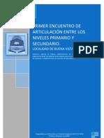 PRIMER ENCUENTRO DE ARTICULACIÓN ENTRE EL NIVEL (Reparado) (Reparado)