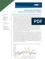 Australian Economics Weekly 17-05-13 (1)