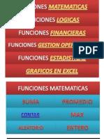 Funciones en Excel Version 1