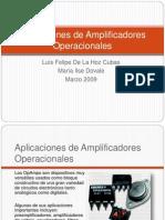 aplicacionesdeamplificadoresoperacionales-090526002140-phpapp02