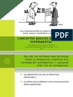 Conceptos Basicos Diseno Experimental