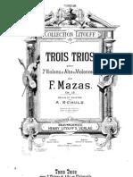 Mazas Trio 2 Vln and Vla or Cello