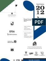 Programa Filarmonica 2012