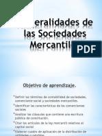 03 Generalidades de Sociedades Mercantiles