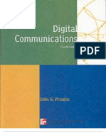 Digital Communications by JG Proyakis