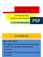 Uji Korelasi